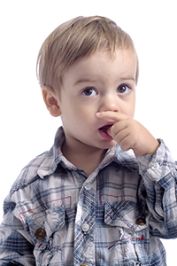 Young Boy Sucking His Thumb