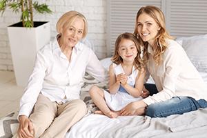 Grandmother, Mother & Daughter